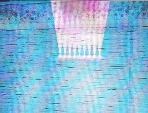 Lasik femtoseconde : découpe du volet par bulles de gaz crées par le laser